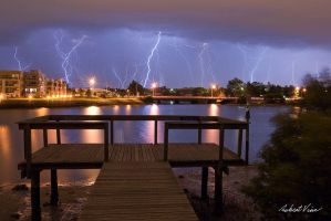 Throsby Creek Storm by robertvine