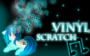 Vinyl Scratch wallpaper by ShadesofEverfree