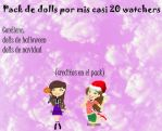 Pack De Dolls Por Mis Casi 20 Watchers by dany-gama