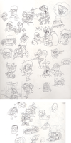 Sketch Dump 18-09-2011 by Zeurel