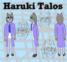 [Reference] Haruki Talos by Ninjaxio