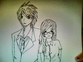 Me and L by whiteandnerdyXD