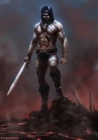 Barbarian by thomaswievegg