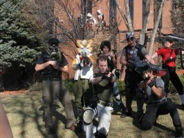 Shooter Video Games Group Photoshoot 2 by Leap207