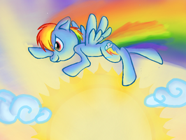 Rainbow Dash by KazeSkyfox