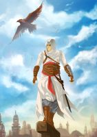 Altair-skyline by Graphic--Ops