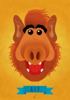 A for Alf by eBLOOM