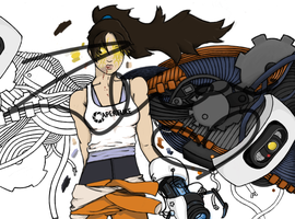 chell by dtctvholmes