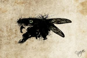 moth rorschach by Synergy14