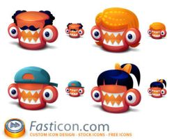 Creature Family Icons by FastIcon