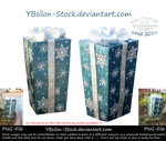 Christmas Packages by YBsilon-Stock by YBsilon-Stock
