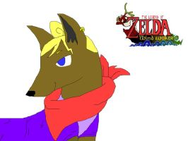 Tetra the wolf captain by Nintendo-Lover-Kat