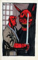 H is for Hellboy by crisurdiales