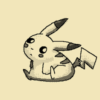 Old Pikachu by PinkyMaggie