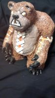 TIbbers, the Bear (Sculpture) by ZombiDruid