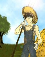 Roy in Farm by hime1999