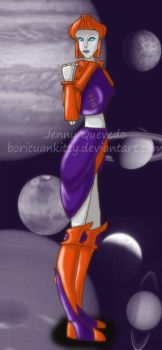 Orange and Purple by BoricuanKitty