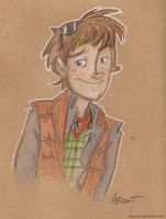 Marty McFly by AronDraws