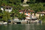 Restaurant on Lake Lugano by wildplaces