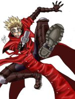 Vash Of Trigun by espyrae
