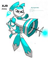 Jenny XJ9 with Laser Cannon by Kotaro04