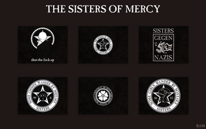 The Sisters of Mercy Desktops by bampop