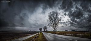 Winter rain by NorbertKocsis