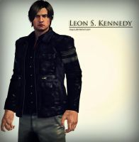 Leon S. Kennedy by Keyre