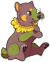 Flower Bear (AT) by Sherushi