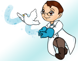 chibi medic (blue team) by wowmom-penemily