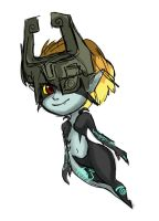 Midna doodle by Yunyin
