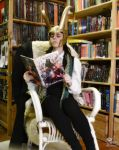 Loki Cosplay - Reading an Avengers Comic by Mon-Kishu