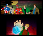 Supernatural Mightiest Heroes by nupao