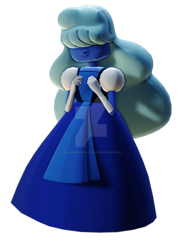 [MMD] (Steven Universe) Sapphire by YelenBrownRaccoon