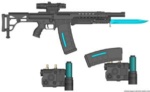 Pulse Rifle by GeneralRich