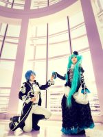 Vocaloid, Miku and Kaito, Cantarella by SNTP