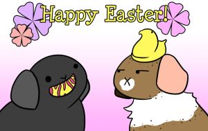 Happy Easter! by Foxy-Sketches
