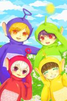 Eh-oh! Teletubbies by sawa-rint