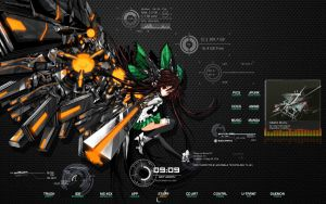 Reiji Utsuho theme for win 7 by EasyModeDX