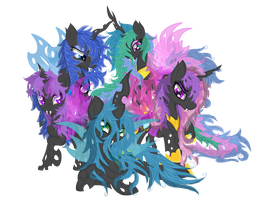 Our New Changeling Overlords by Law44444