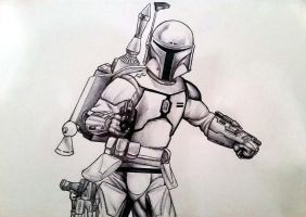 Bounty Hunter Fett by AraxussYexyr