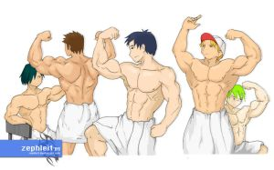 Towel Boys by zephleit