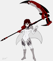 Commission Piece - Claymore Ruby by theklocko