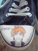 Fan shoes - Ichigo by Catharaa