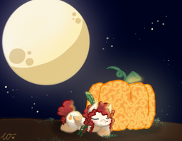 LadyPumpkin by wivimon