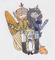 Family by Radioactive-Cryptid