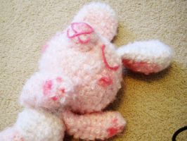 lazy bunny 4 by hellohappycrafts