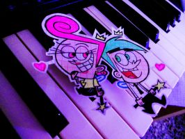 Cosmo and Wanda by InvisibleJune