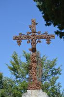 Old grave cross of cemetery of Bagnils En Foret by A1Z2E3R
