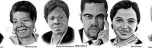 Black History Commissions by KiraTheArtist